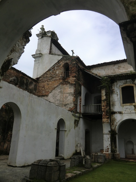 Altes Kloster in Angra dos Reis